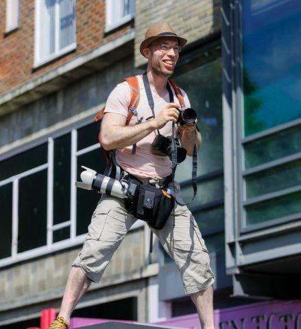 photojournalist Joe Hudson